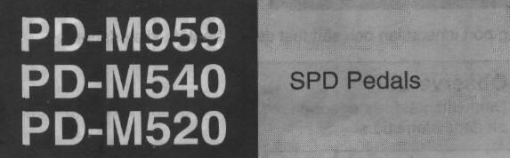 shimano sm sh51 instructions